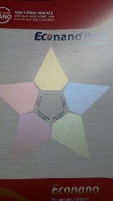 Sơn đổi màu Ánh Kim Cương Econano - Bước đột phá mới trong ngành sơn trang trí!